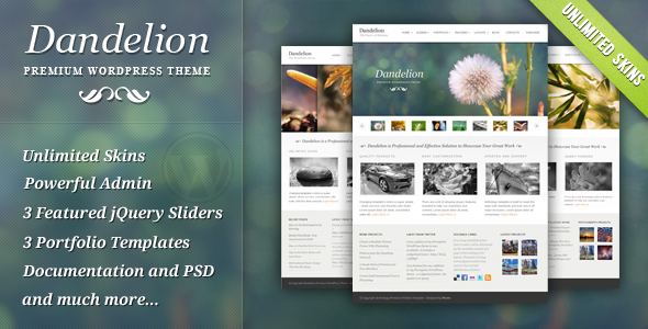 Expression Photography Responsive WordPress Theme - 3